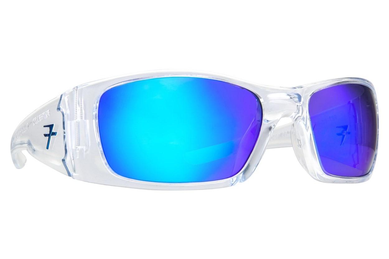 Fatheadz Black Nitro Clear Sunglasses