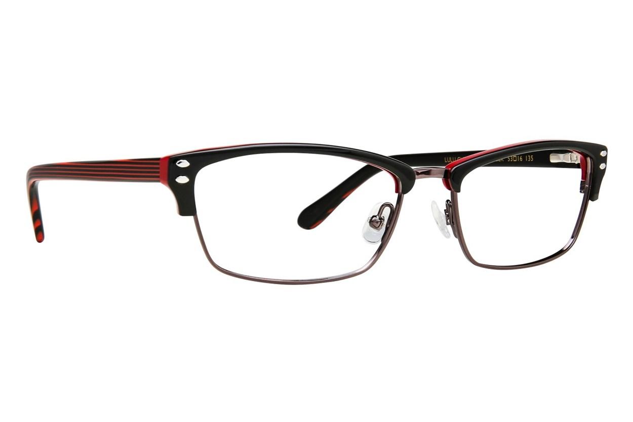 Lulu Guinness L771 Black Glasses