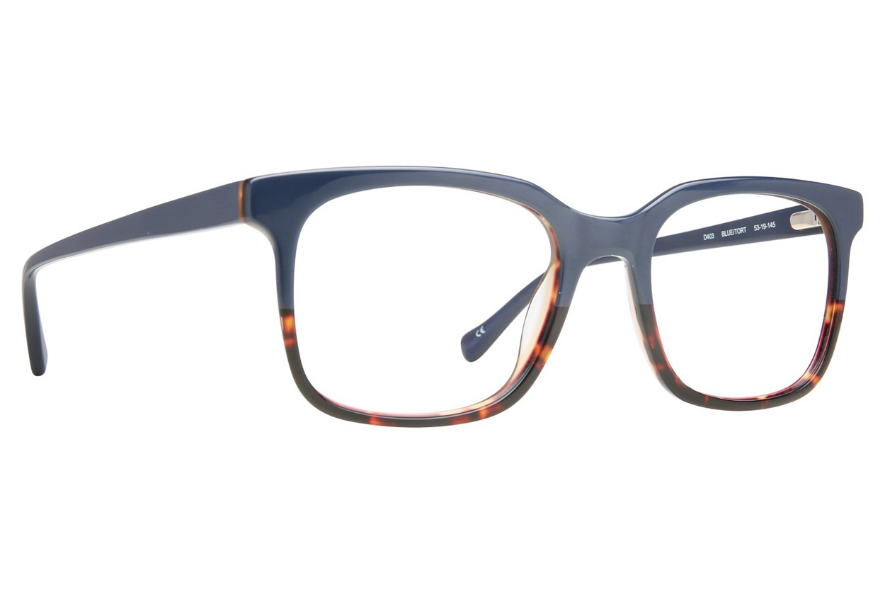 Lucky D403 Blue Glasses