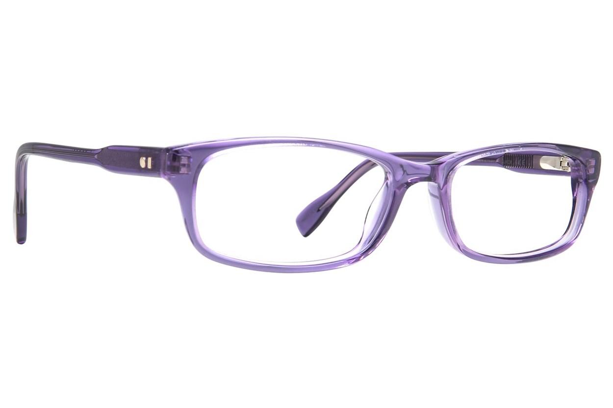 Derek Lam 10 Crosby 347 Purple Glasses