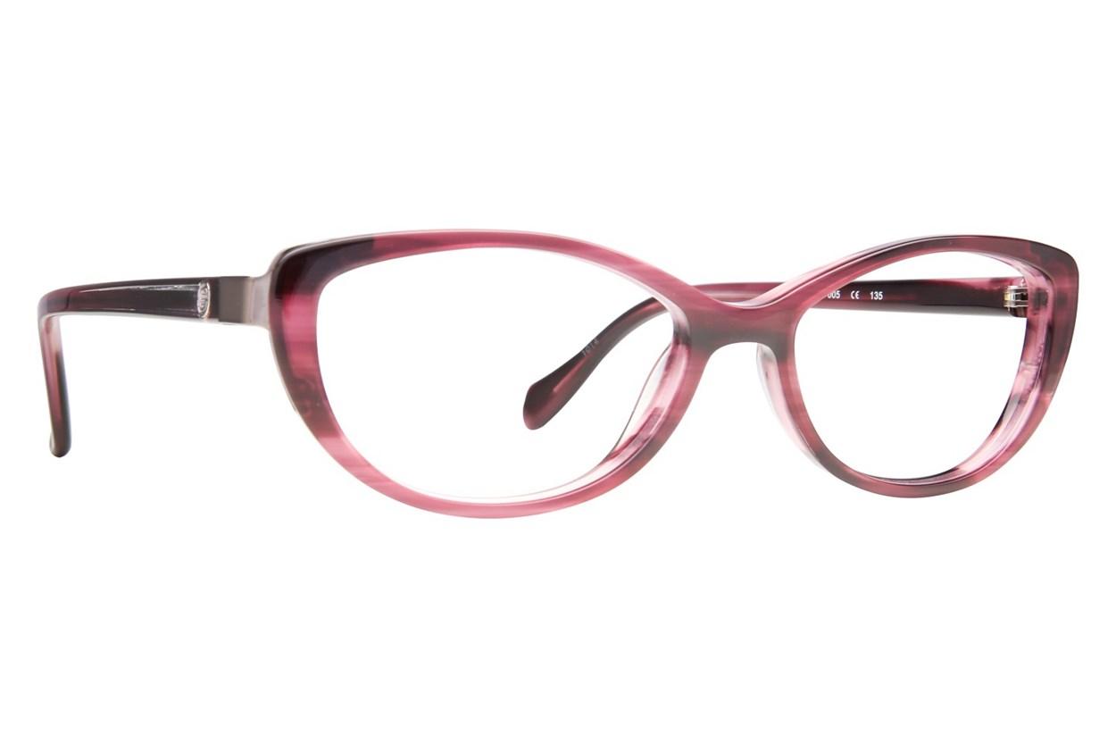Leon Max LM 4010 Purple Glasses