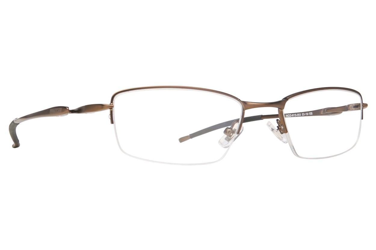 NASCAR N15 Brown Glasses