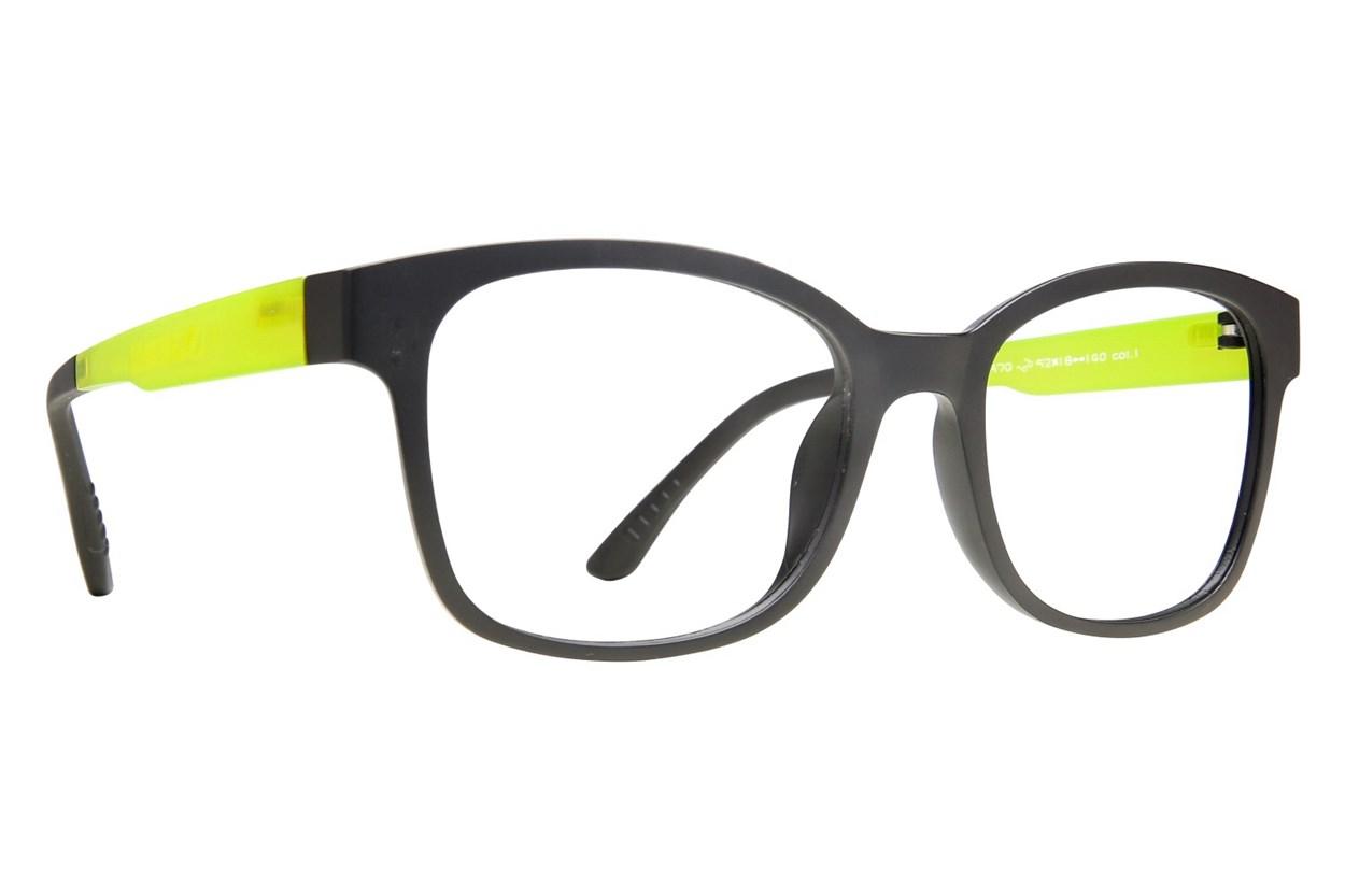 Eyecroxx EC40UL 370 Black Glasses