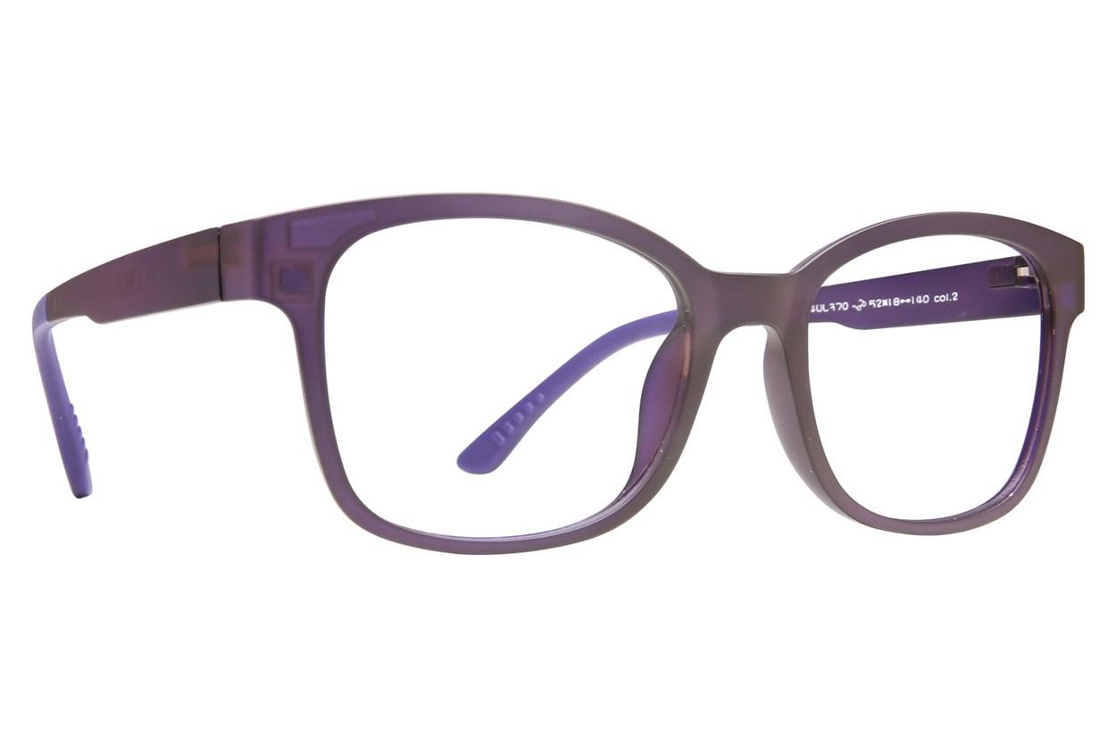 Eyecroxx EC40UL 370 Purple Glasses