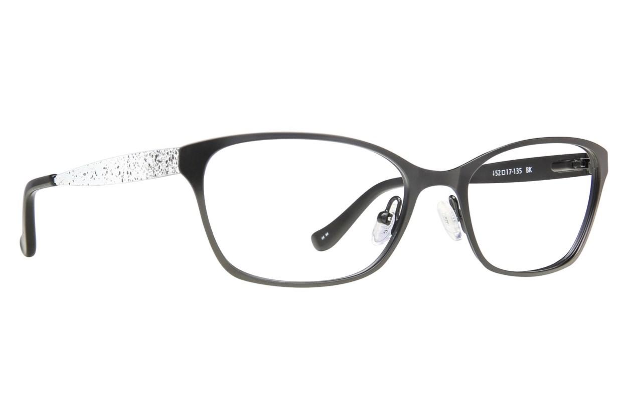 Kensie Bubbly Black Glasses