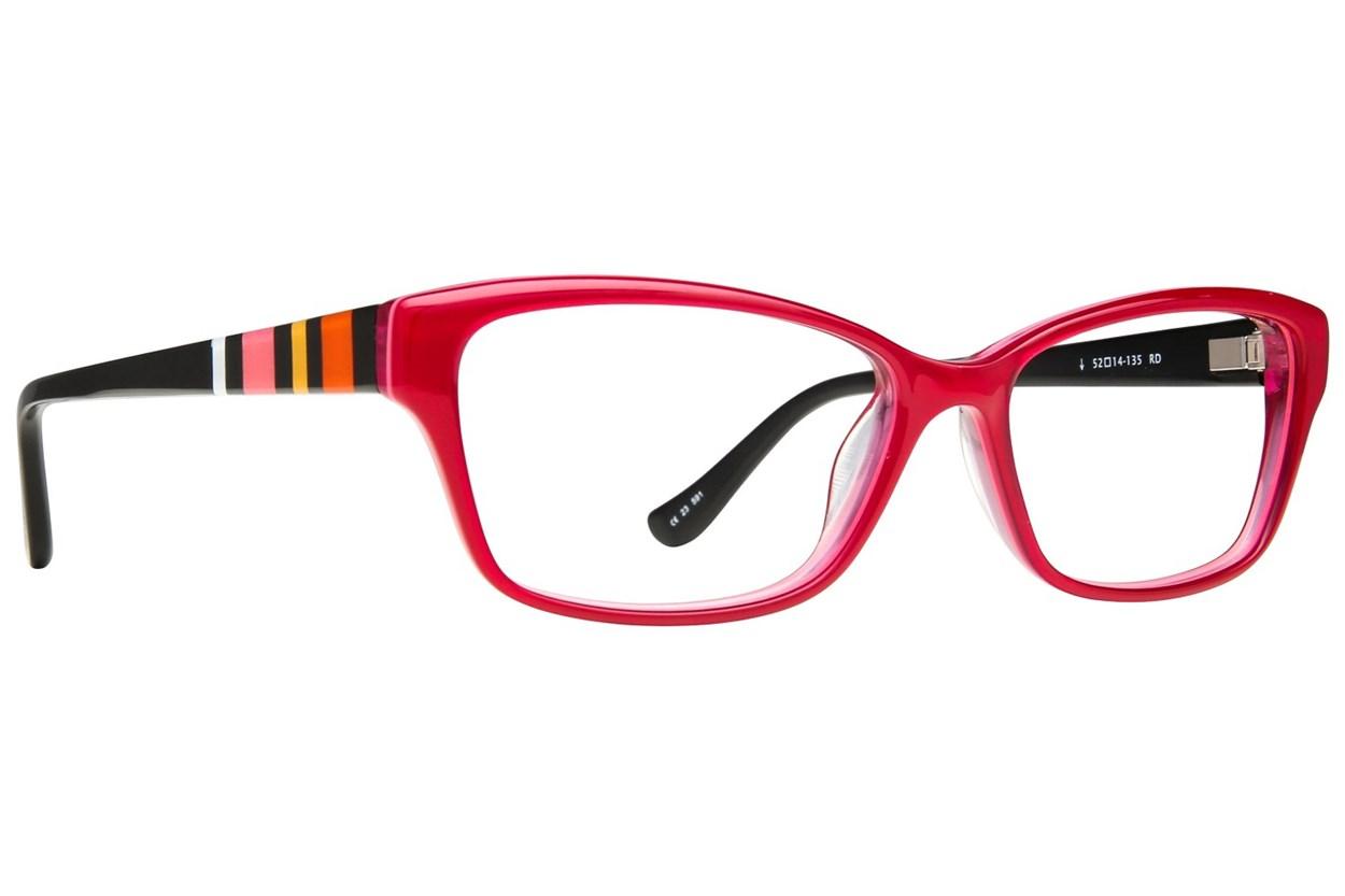 Kensie Happy Red Glasses