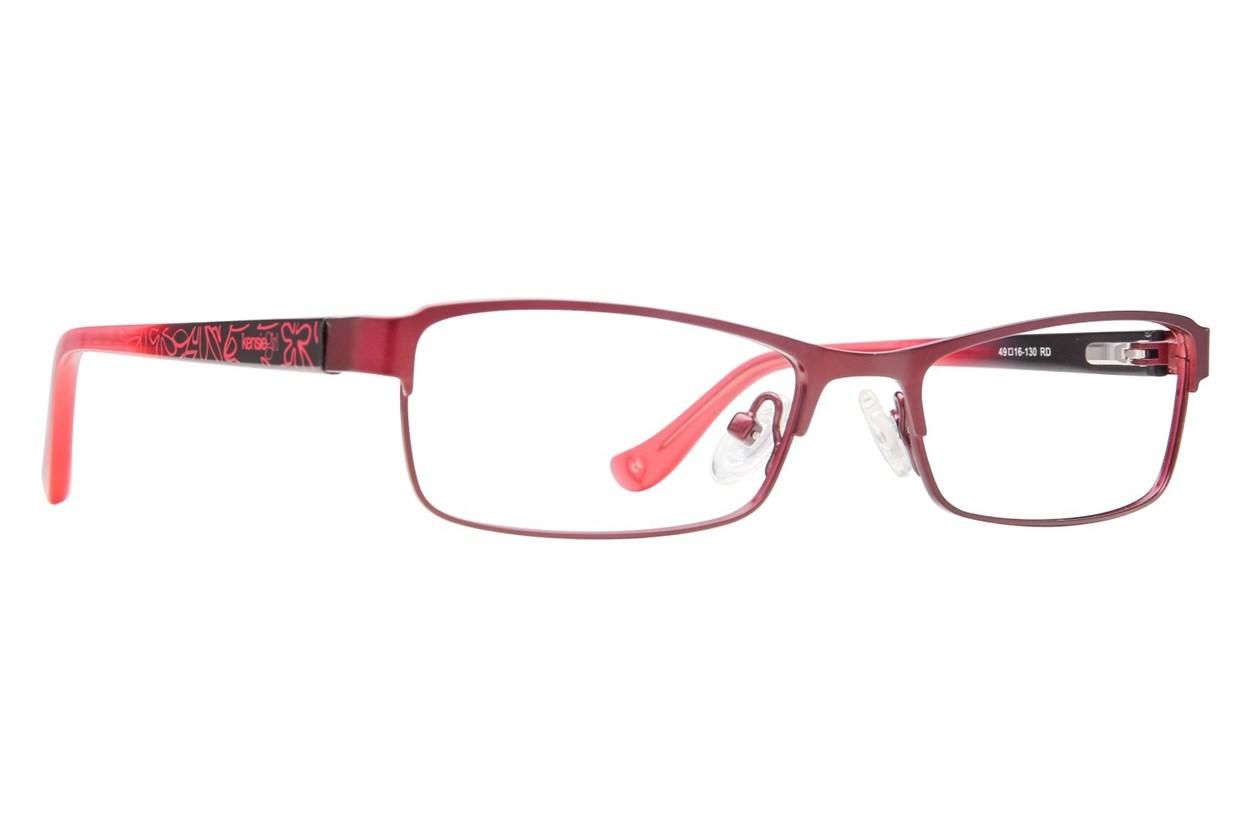 Kensie Girl Bright Red Glasses
