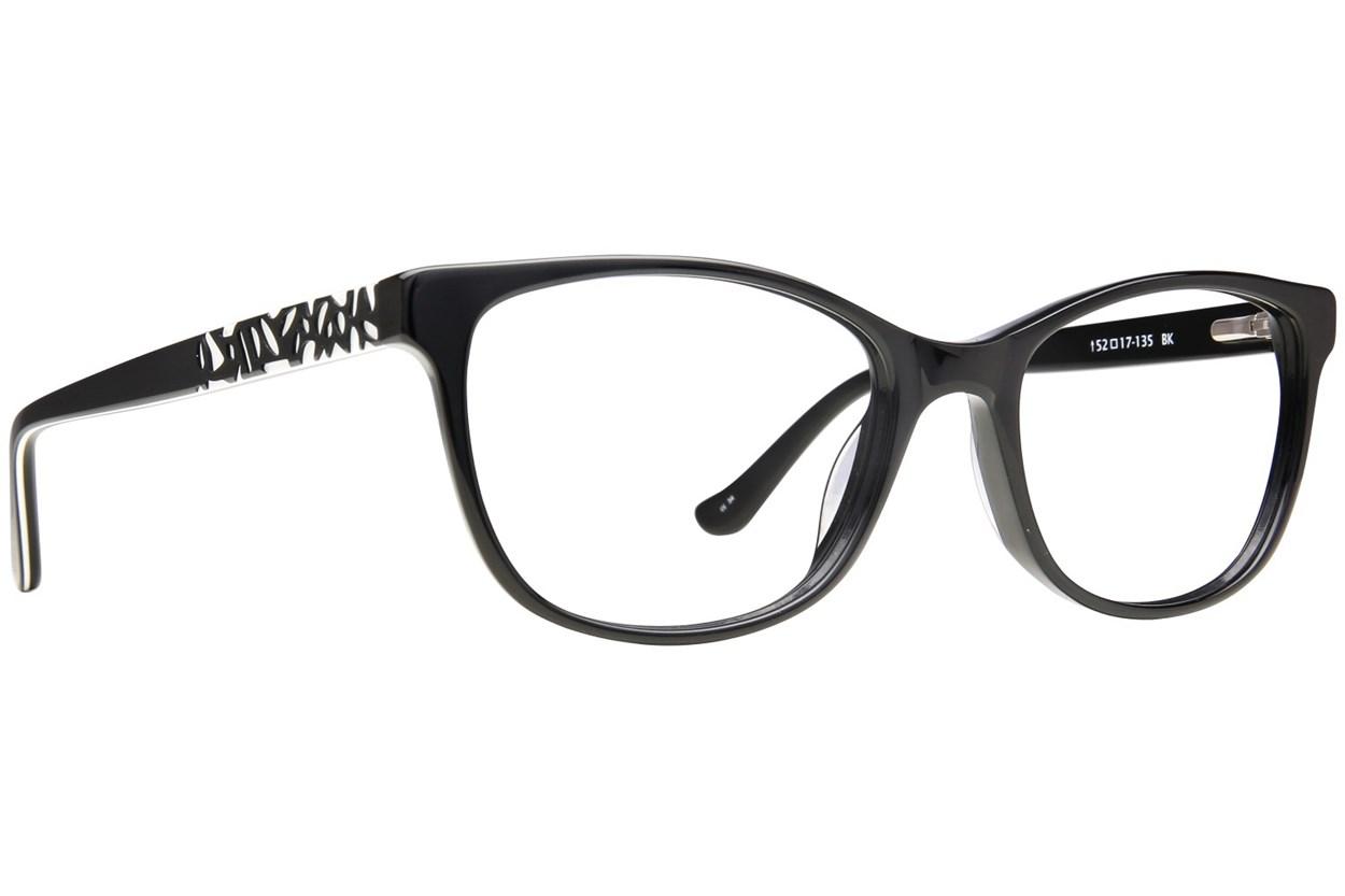 Kensie Positivity Black Glasses