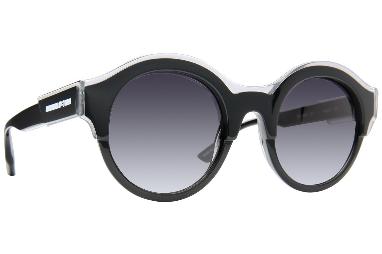 MCQ By Alexander Mcqueen MQ0003S Black Sunglasses