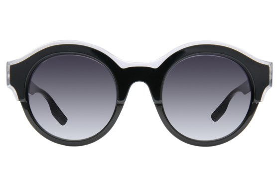 MCQ By Alexander Mcqueen MQ0003S Black Sunglasses