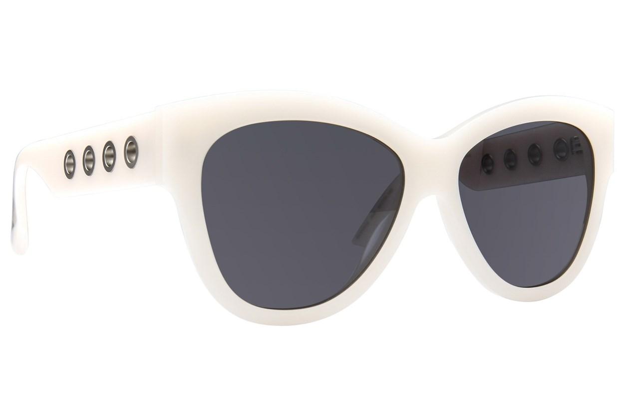 MCQ By Alexander Mcqueen MQ0021S White Sunglasses