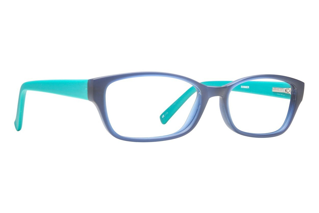 Paws n Claws Summer Blue Glasses