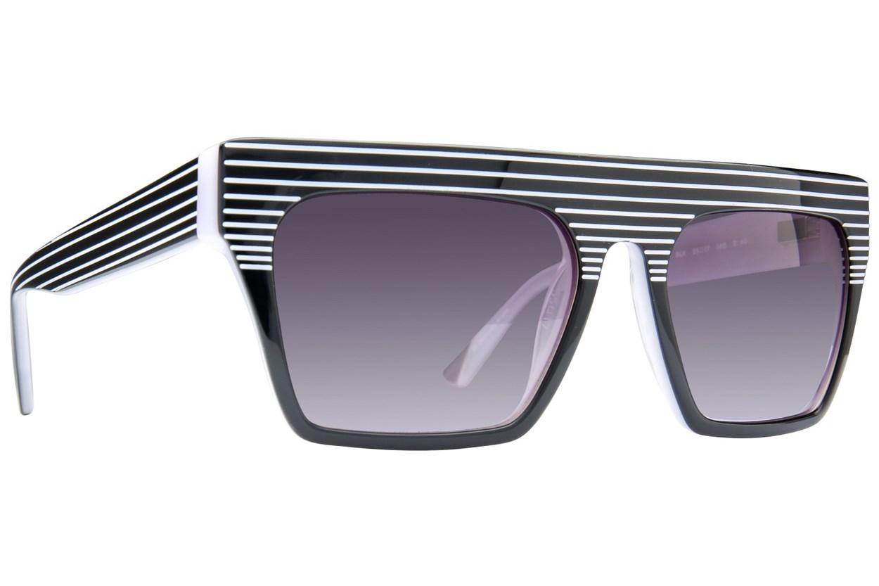 L.A.M.B. By Gwen Stefani LA502 Black Sunglasses