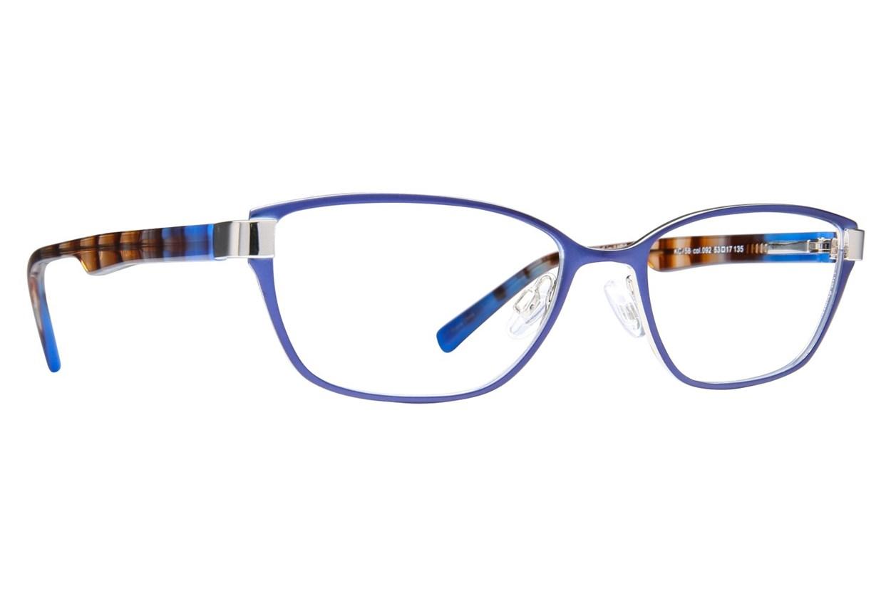 Kenneth Cole Reaction KC0758 Blue Glasses
