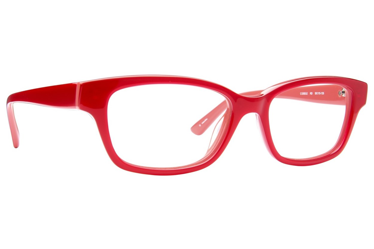 Candie's Gisele Red Glasses