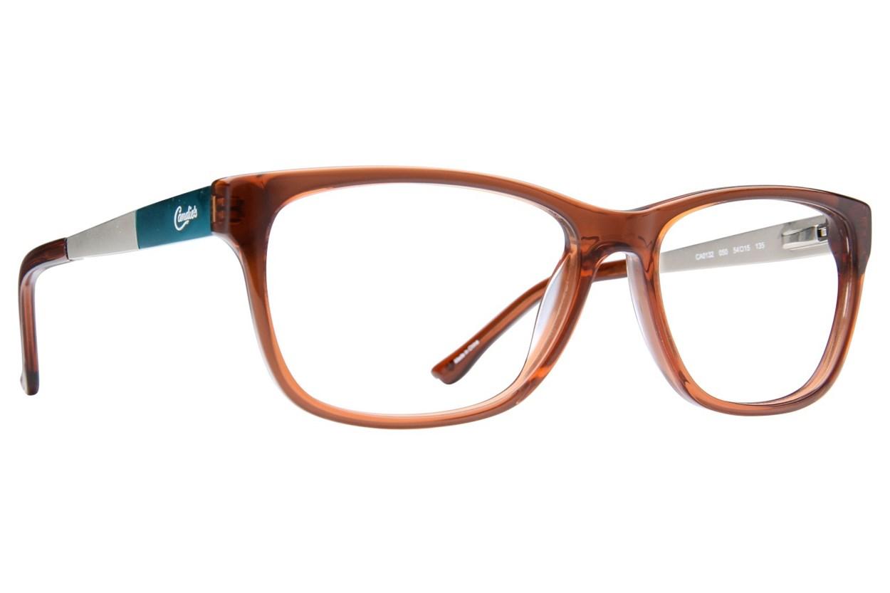 Candie's CA0132 Brown Glasses