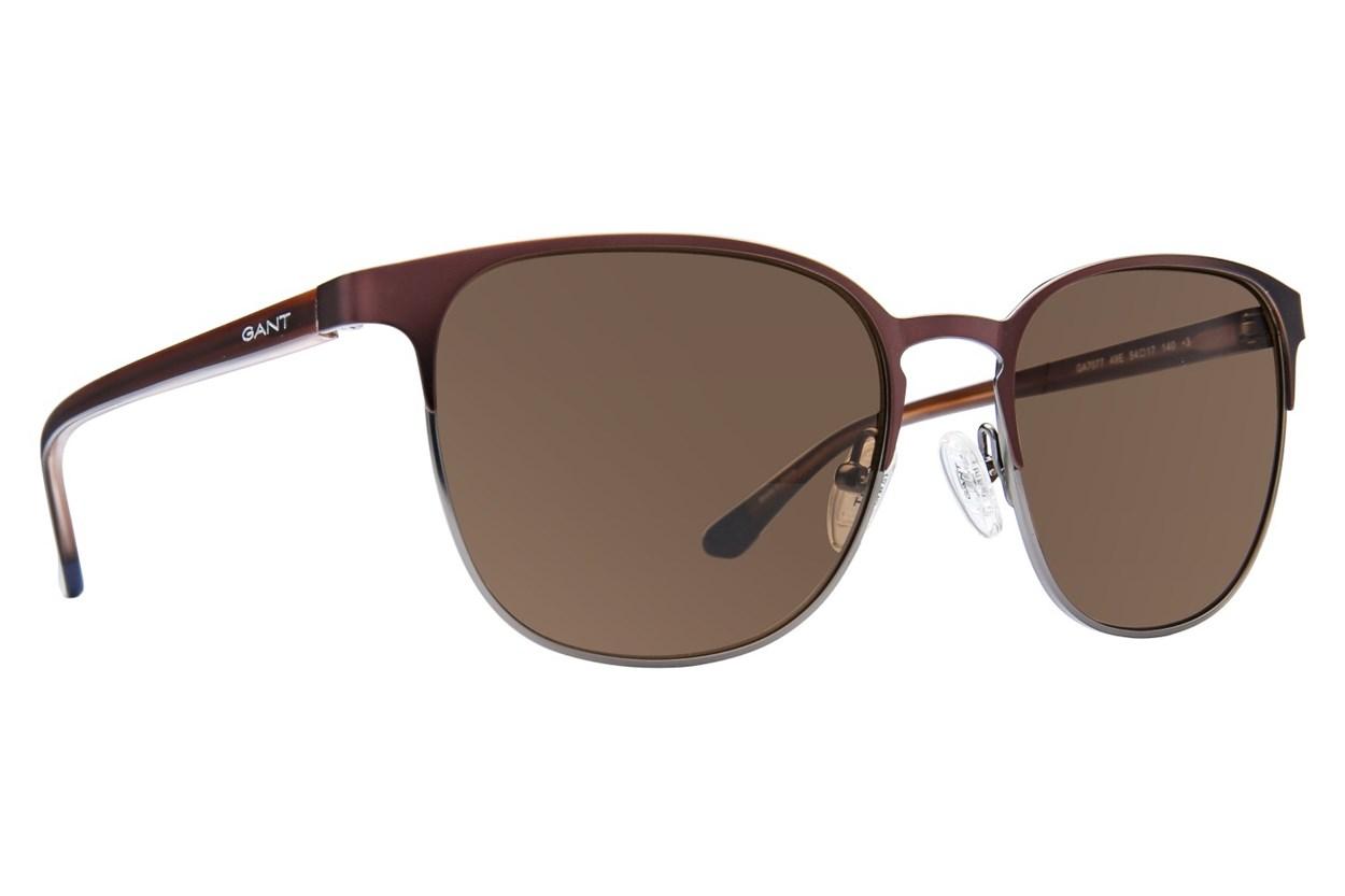 Gant GA7077 Brown Sunglasses