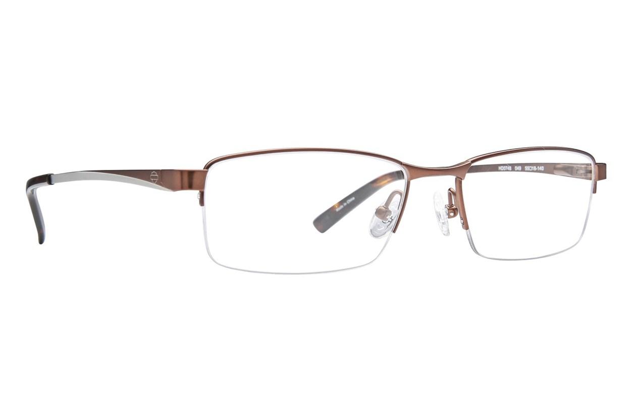 Harley Davidson HD 748 Brown Glasses