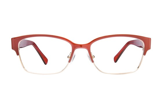 Platinum Eyewear PLO350 Red Glasses