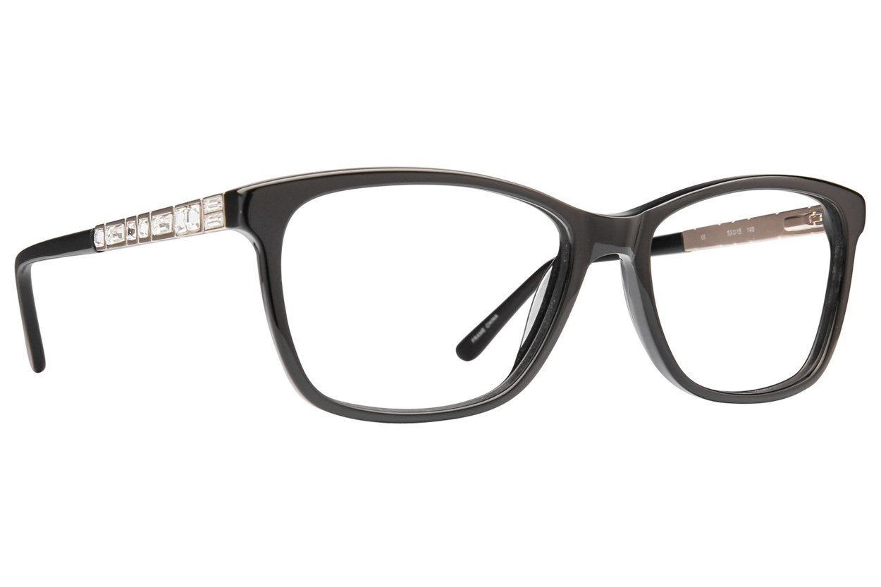 Platinum Eyewear PLO351 Eyeglasses - Black