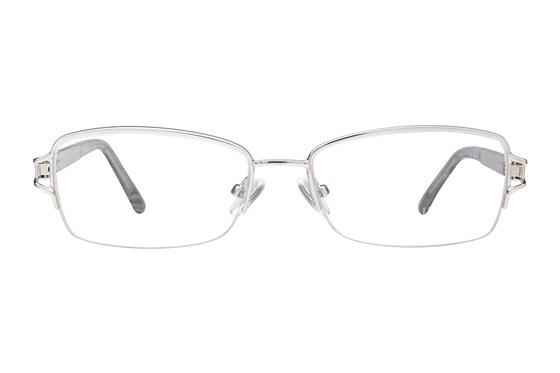 Platinum Eyewear PLO353 Silver Glasses
