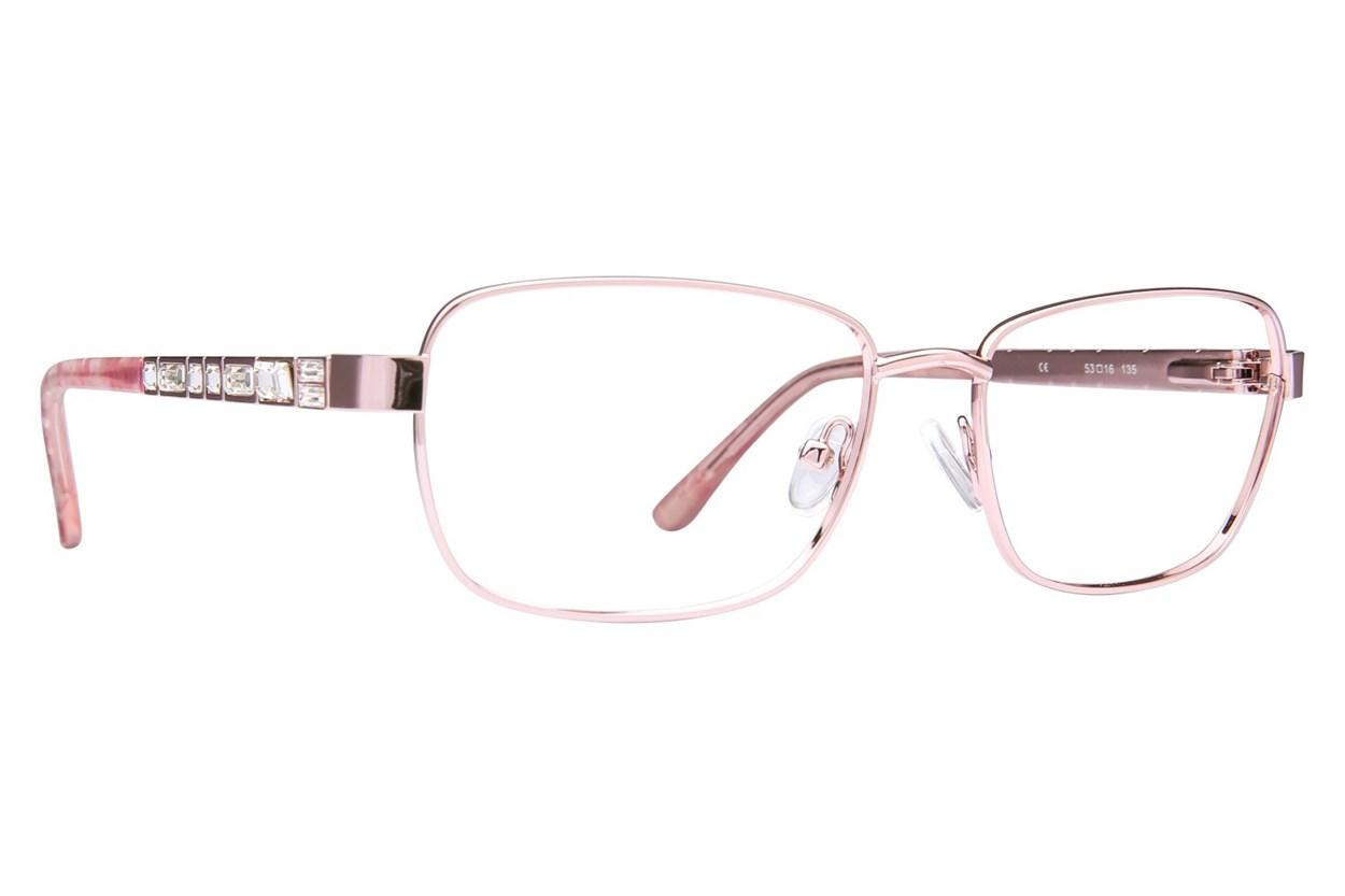 Platinum Eyewear PLO354 Pink Glasses