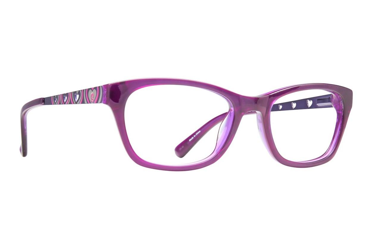 Skechers SE 1601 Purple Glasses