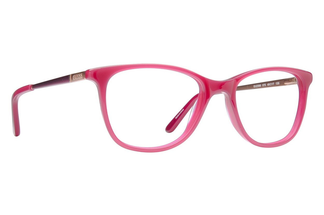 GUESS GU 2566 Pink Glasses