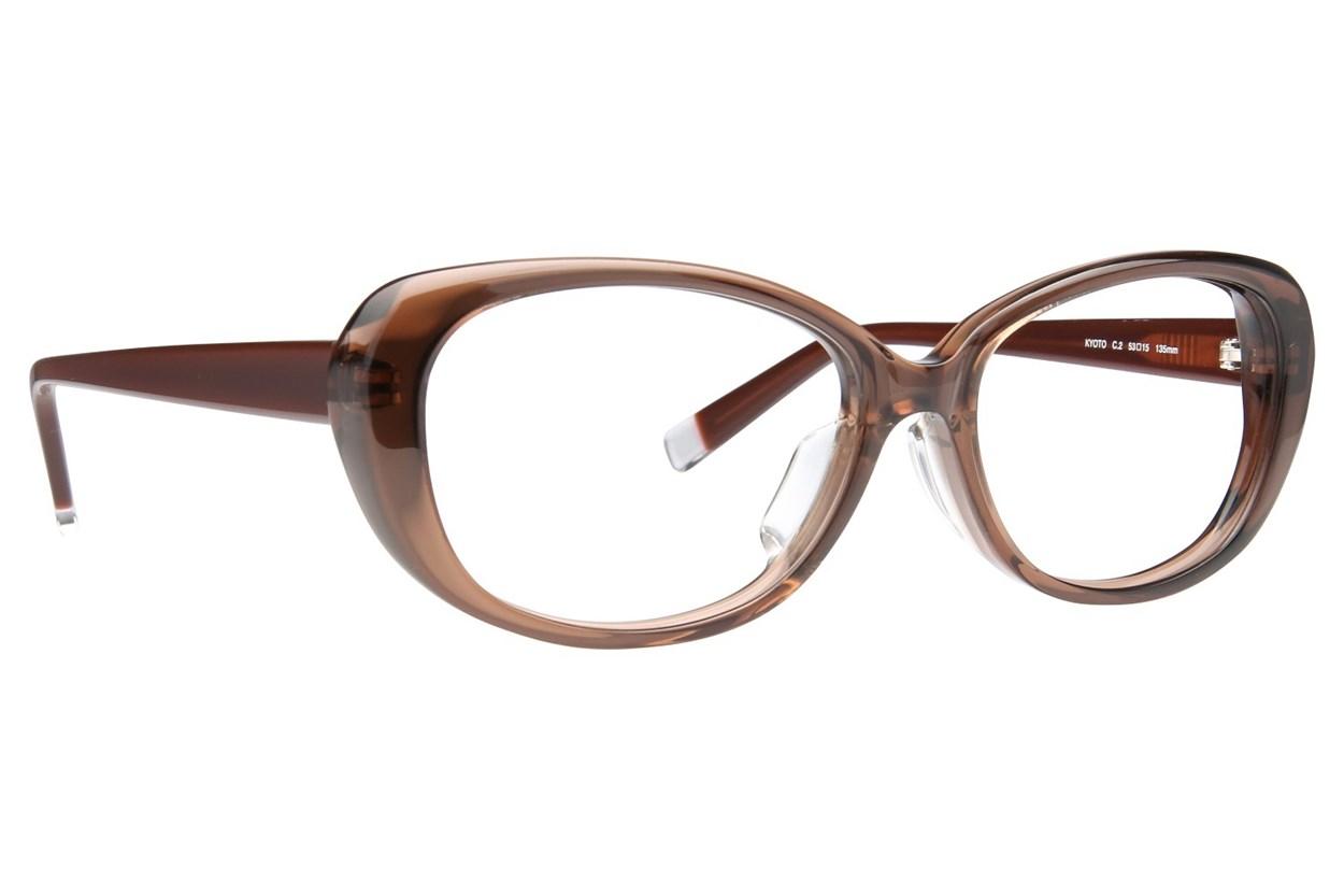 TC-Fit Kyoto Brown Glasses