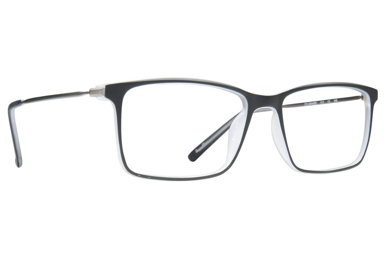 Shaq 117Z Black Glasses