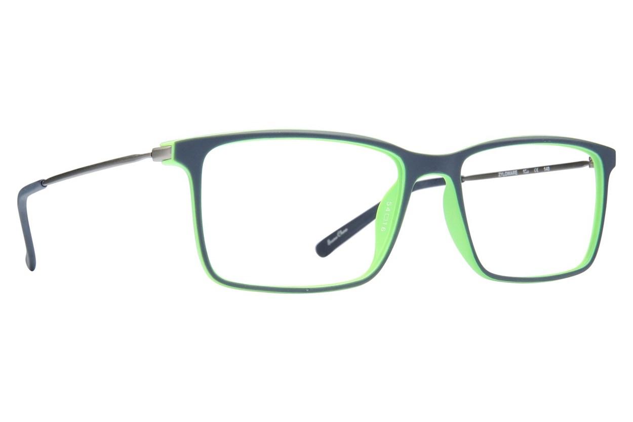 Shaq 117Z Blue Glasses