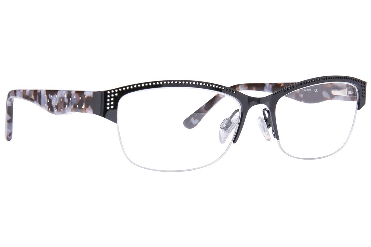 Via Spiga Porzia Black Glasses