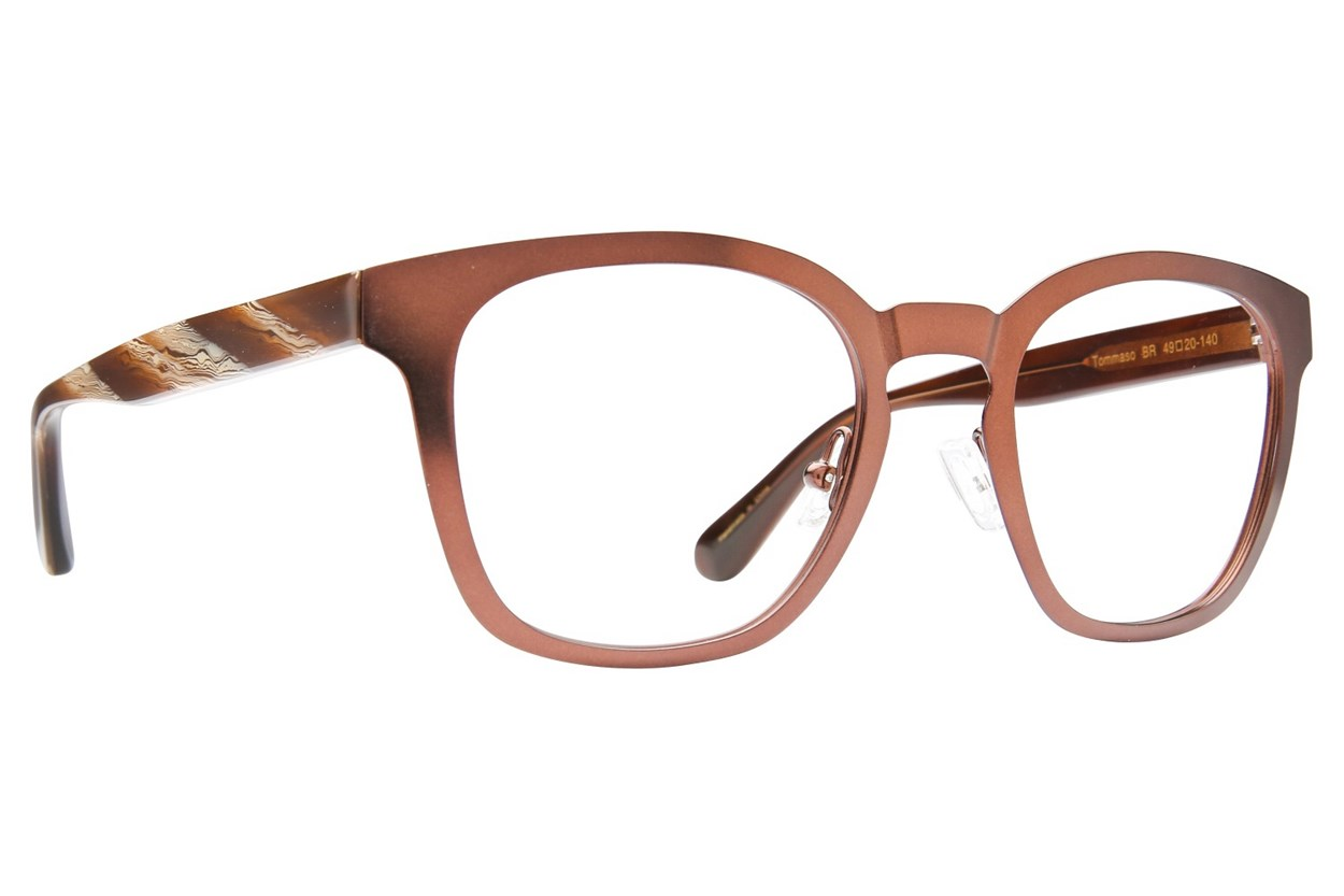 Zac Posen Tommaso Brown Glasses