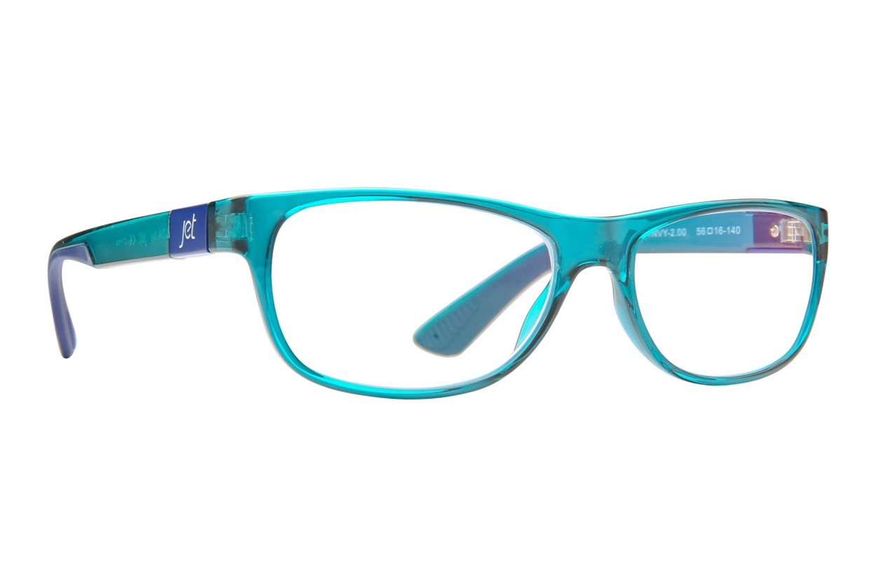 Jet Readers LGA Reading Glasses Blue ReadingGlasses