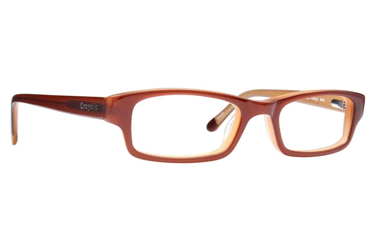 Crayola CR112 Brown Glasses