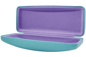Click to swap image to alternate 1 - CalOptix Carousel Medium Eyeglass Case 50 - Blue