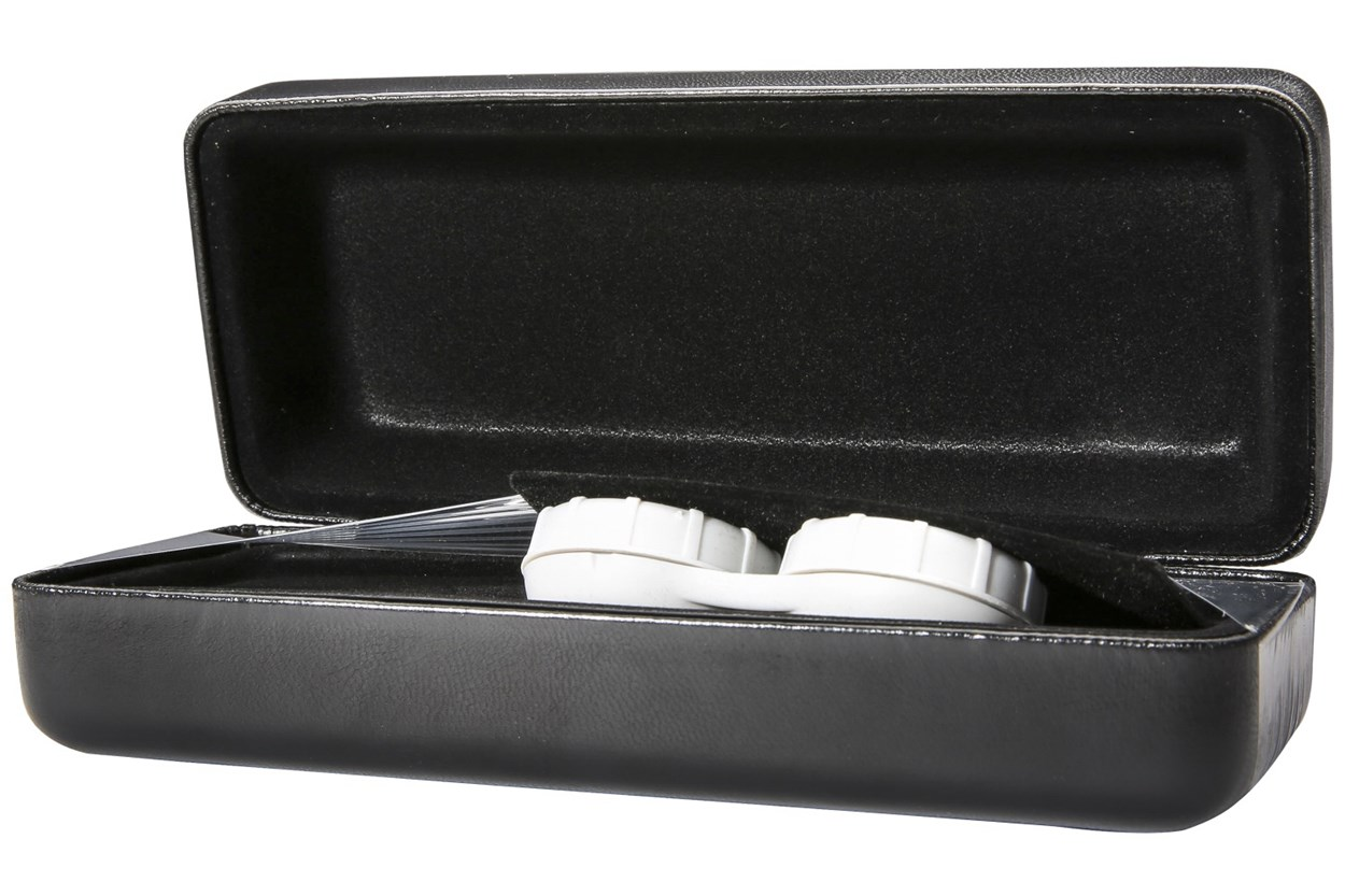 Alternate Image 1 - CalOptix Eyeglass/Contact Lens Combo Case Black GlassesCases