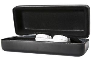 Click to swap image to alternate 1 - CalOptix Eyeglass/Contact Lens Combo Case Black GlassesCases