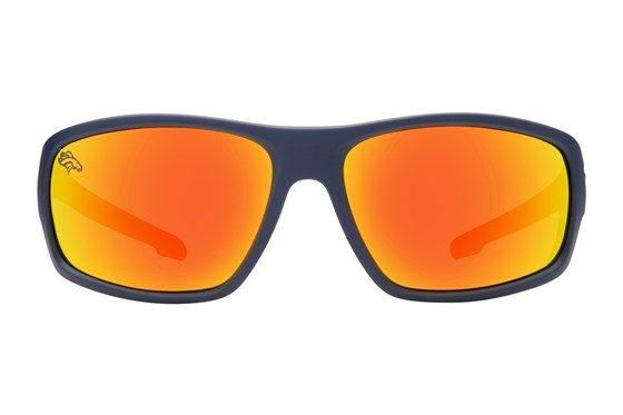 NFL Denver Broncos Catch Style Blue Sunglasses