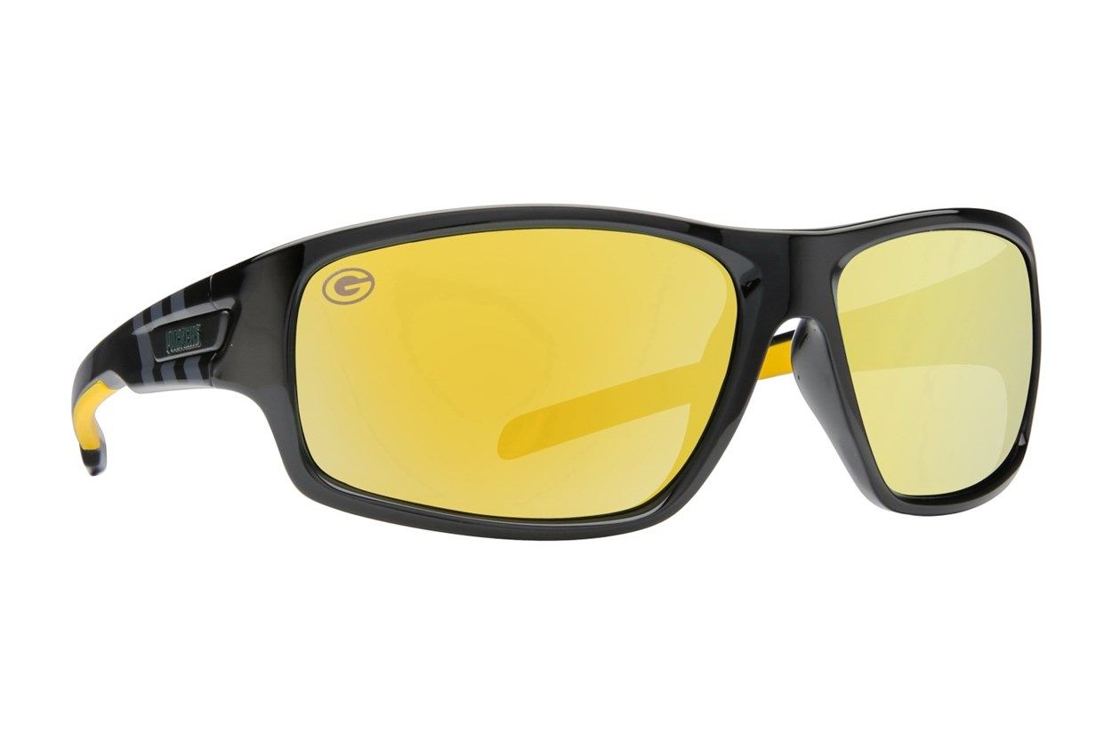 NFL Green Bay Packers Catch Style Black Sunglasses