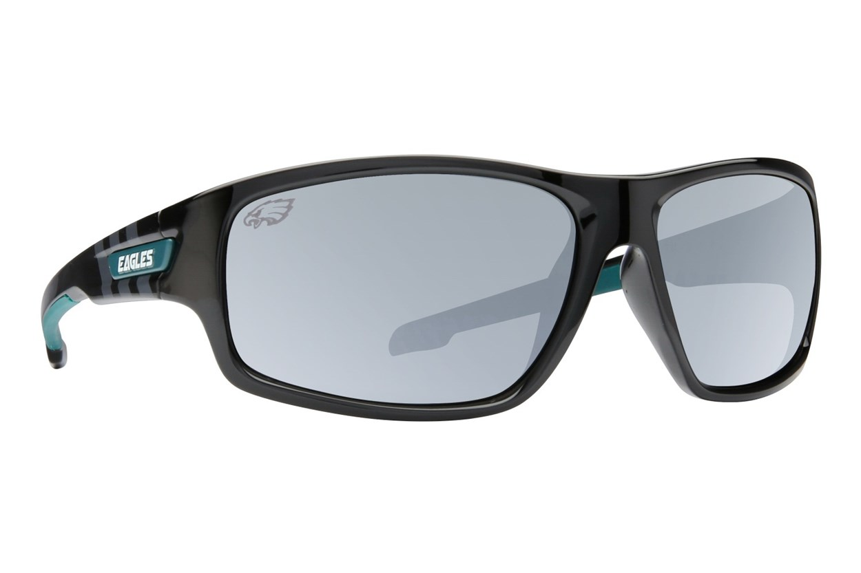 NFL Philadelphia Eagles Catch Style Black Sunglasses