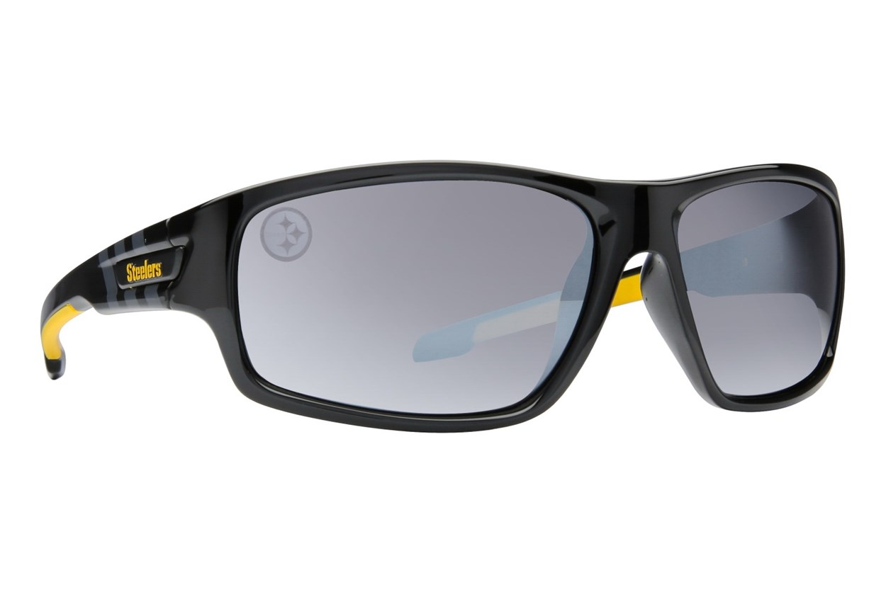 NFL Pittsburgh Steelers Catch Style Black Sunglasses