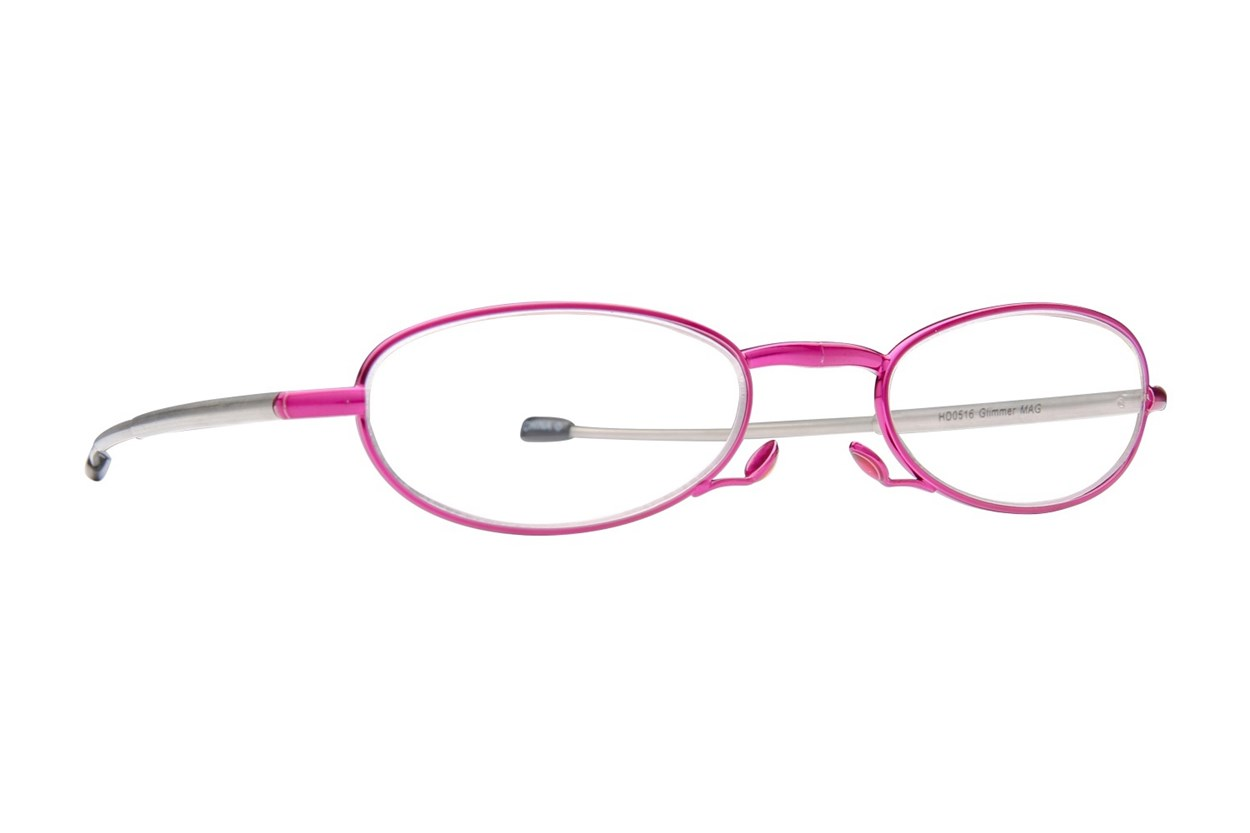 Foster Grant Gideon Glimmer Microvision Reading Glasses Purple ReadingGlasses
