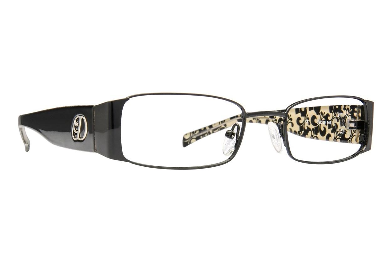 Dereon DOV 501 Black Glasses