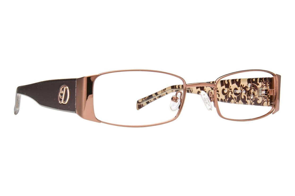 Dereon DOV 501 Brown Glasses