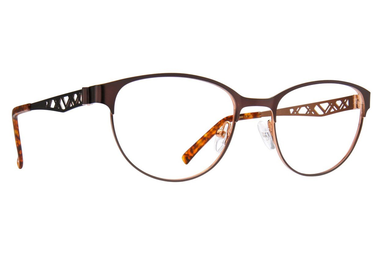 Jill Stuart JS 344 Brown Glasses