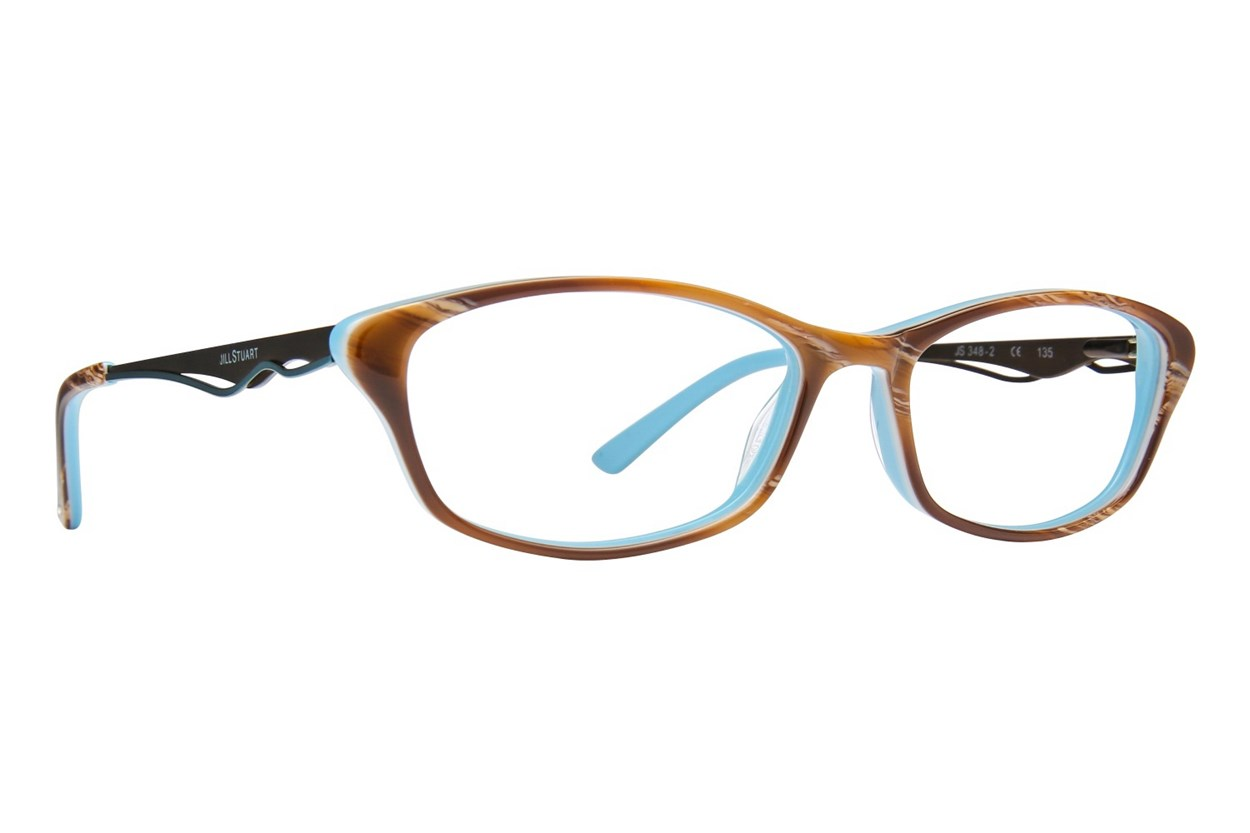 Jill Stuart JS 348 Brown Glasses