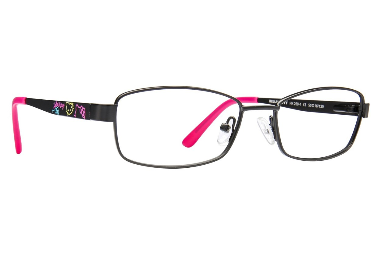 Hello Kitty HK260 Black Glasses