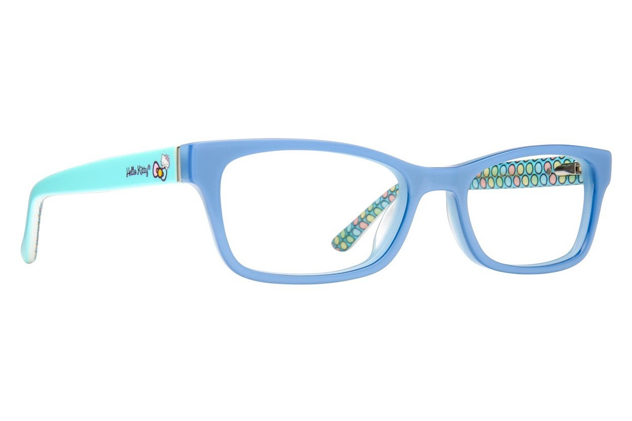 Hello Kitty HK262 Blue Glasses