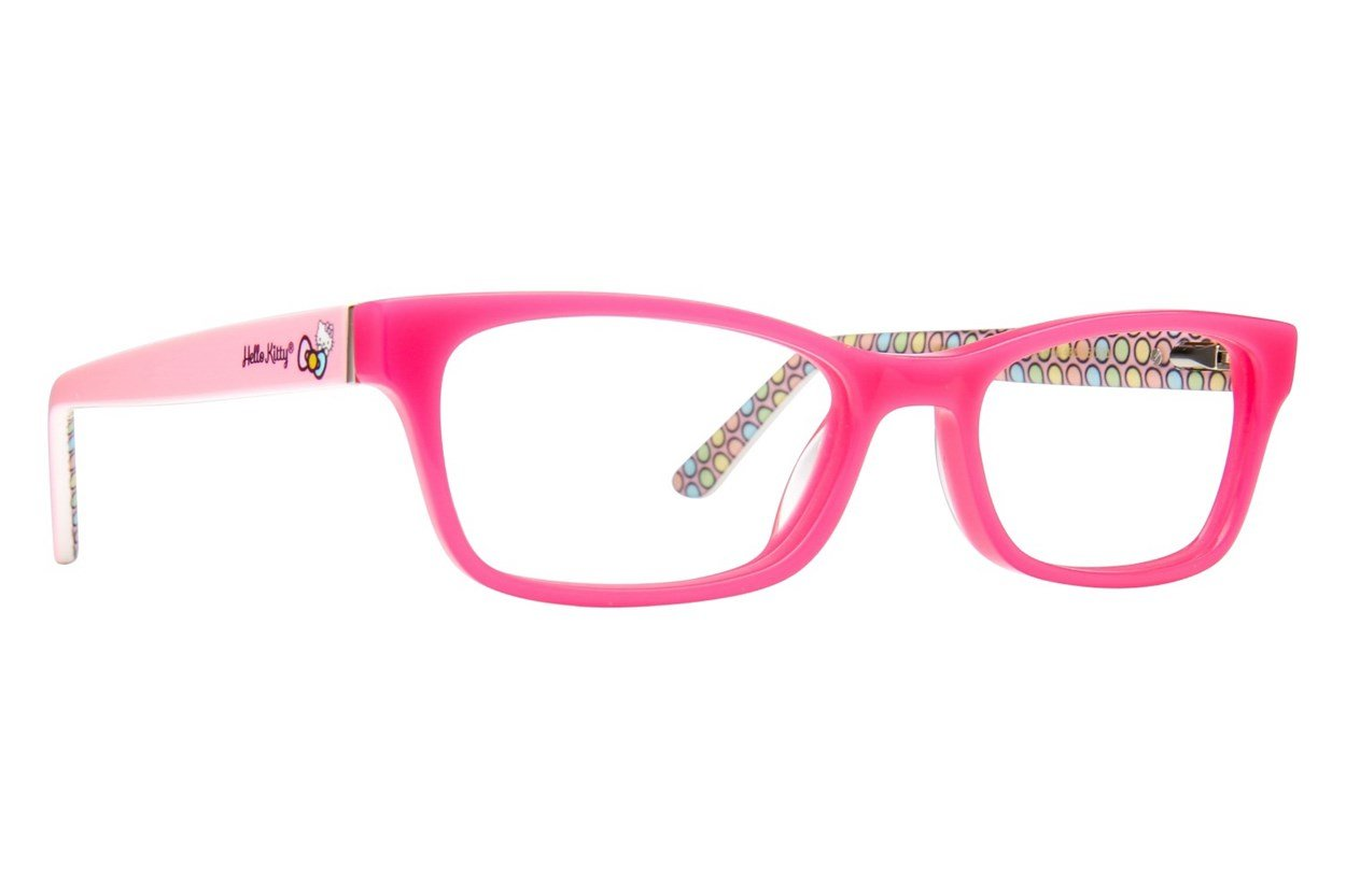 Hello Kitty HK262 Pink Glasses